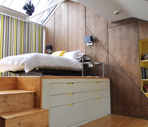 Решения для маленькой спальни