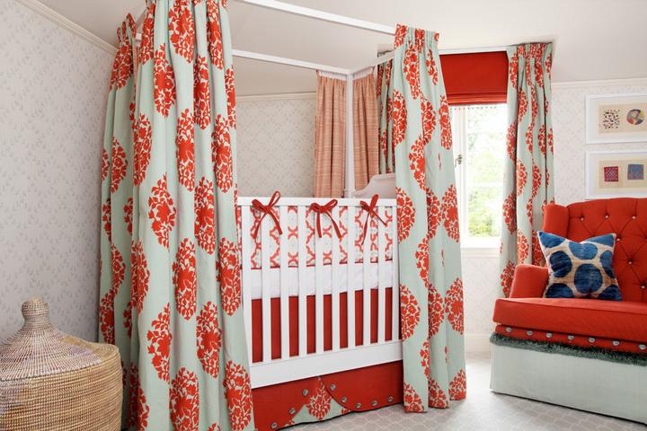 Выкройка балдахина для кроватки новорожденного