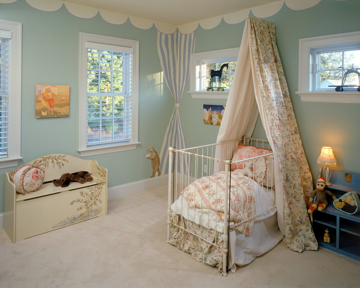 Детский балдахин над кроватью своими руками