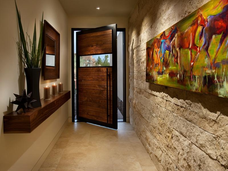 дизайн коридора узкого и длинного фото